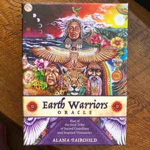 Earth Warriors Oracle deck and guidebook